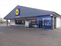Supermarket LIDL, 500 m od domu (Prodej bytu 2+kk v osobním vlastnictví 35 m², Praha 10 - Hostivař)