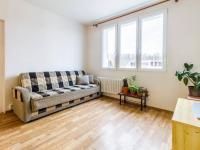 Obývací pokoj (Prodej bytu 2+kk v osobním vlastnictví 35 m², Praha 10 - Hostivař)