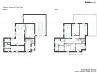 návrh řešení domu RD 2 - Prodej domu v osobním vlastnictví 285 m², Praha 8 - Dolní Chabry