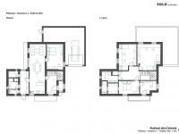 návrh řešení domu RD 1 - Prodej domu v osobním vlastnictví 285 m², Praha 8 - Dolní Chabry