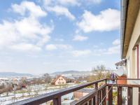 Balkon (Prodej bytu 3+1 v osobním vlastnictví 83 m², Čebín)