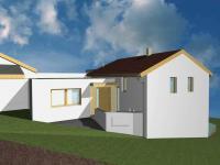 pohled západní (Prodej domu v osobním vlastnictví 160 m², Bílovice nad Svitavou)