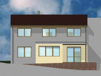 jižní pohled - Prodej domu v osobním vlastnictví 160 m², Bílovice nad Svitavou