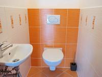 Samostatná toaleta (Pronájem bytu 3+kk v osobním vlastnictví 80 m², Praha 9 - Čakovice)