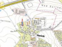Prodej pozemku 1490 m², Herink