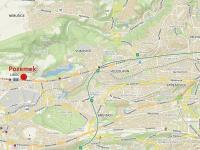 Mapa (Prodej pozemku 10936 m², Praha 6 - Liboc)