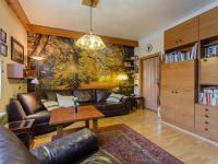 2.NP - Obývací pokoj (Prodej domu v osobním vlastnictví 166 m², Brno)