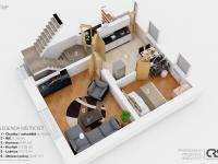 Půdorys 1.NP (Prodej domu v osobním vlastnictví 166 m², Brno)