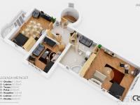 Půdorys 2. NP Vila Klánovice, na prodej, Tomáš Valtera, RE/MAX Alfa (Prodej domu v osobním vlastnictví 450 m², Praha 9 - Klánovice)