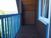balkon u ložnice (Prodej domu v osobním vlastnictví 150 m², Kamýk nad Vltavou)