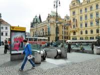 Stanice metra B Náměstí Republiky, 200 m od domu - Prodej bytu 1+kk v osobním vlastnictví 27 m², Praha 1 - Nové Město