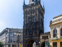 Prašná brána, 300 m od domu - Prodej bytu 1+kk v osobním vlastnictví 27 m², Praha 1 - Nové Město