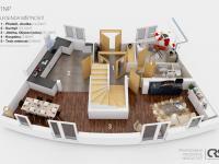 Prodej bytu 5+1 v osobním vlastnictví 144 m², Obříství
