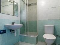 Koupelna  (Prodej bytu 1+kk v osobním vlastnictví 33 m², Hostivice)