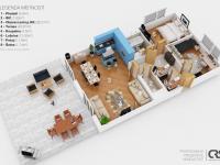 Prodej bytu 3+kk v osobním vlastnictví 124 m², Praha 5 - Stodůlky