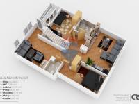 1. nadzemní podlaží (Prodej domu v osobním vlastnictví 222 m², Suchomasty)