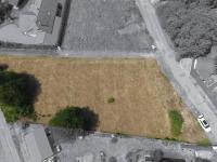 Letecký pohled na pozemek (Prodej pozemku 1548 m², Ondřejov)