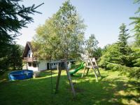 Zahrada u domu (Prodej chaty / chalupy 120 m², Frymburk)