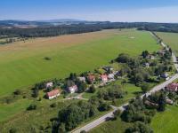 Pohled na část obce Blatná (Prodej chaty / chalupy 120 m², Frymburk)