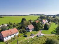 Pohled na dům z výšky (Prodej chaty / chalupy 120 m², Frymburk)
