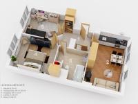 Prodej bytu 3+kk v osobním vlastnictví 79 m², Rosice