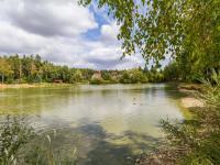 Hned u domu příroda - rybník, les (Prodej domu v osobním vlastnictví 114 m², Mukařov)