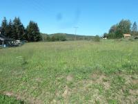 Pohled na pozemek - Prodej pozemku 2065 m², Přední Výtoň