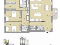 Prodej bytu 4+kk v osobním vlastnictví, 158 m2, Praha 1 - Nové Město