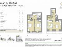Prodej bytu 3+kk v osobním vlastnictví, 109 m2, Praha 1 - Nové Město