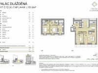Prodej bytu 4+kk v osobním vlastnictví, 146 m2, Praha 1 - Nové Město