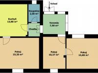 Prodej domu v osobním vlastnictví 80 m², Praha 9 - Běchovice