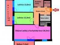 Prodej bytu 3+kk v osobním vlastnictví 118 m², Praha 10 - Michle