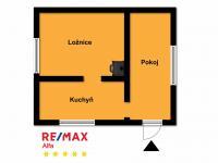 Plánek chaty (Prodej chaty / chalupy 26 m², Káraný)