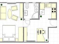 Návrh - ateliér (Prodej kancelářských prostor 37 m², Praha 9 - Libeň)