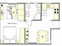 návrh - byt (Prodej kancelářských prostor 37 m², Praha 9 - Libeň)