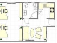 návrh - kancelář (Prodej kancelářských prostor 37 m², Praha 9 - Libeň)