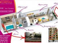 Pronájem bytu 2+kk v osobním vlastnictví 45 m², Praha 5 - Košíře