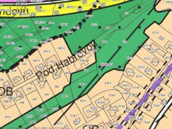 Prodej pozemku 1739 m², Praha 5 - Hlubočepy
