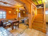 Chalupa: obývací pokoj  - Prodej domu v osobním vlastnictví 160 m², Jesenný