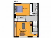 Startovací bydlení - patro - Prodej domu v osobním vlastnictví 90 m², Kostelec nad Černými lesy
