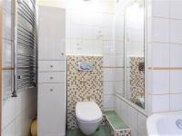 Koupelna s toaletou - Prodej bytu 2+kk v osobním vlastnictví 60 m², Praha 4 - Braník