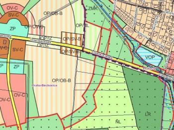 Prodej pozemku 10417 m², Praha 10 - Běchovice