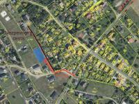 Cesta k pozemku - Prodej pozemku 856 m², Hvozdnice