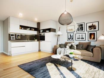 Prodej bytu 1+kk v osobním vlastnictví 46 m², Praha 5 - Smíchov