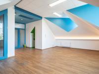 Světlé kanceláře s možností dispozičních úprav - Pronájem kancelářských prostor 342 m², Praha 5 - Jinonice