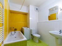Koupelna s WC 1 - Prodej bytu 1+kk v osobním vlastnictví 33 m², Praha 10 - Malešice