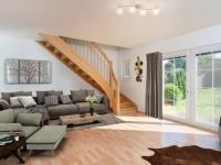 vizualizace obývacího pokoje - Prodej domu v osobním vlastnictví 126 m², Brandýs nad Labem-Stará Boleslav
