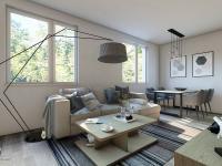 Prodej bytu 2+1 v osobním vlastnictví, 49 m2, Praha 8 - Kobylisy