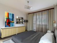 Vizualizace ložnice - Prodej bytu 3+1 v osobním vlastnictví 71 m², Praha 5 - Radlice