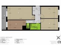 Prodej bytu 3+1 v osobním vlastnictví, 84 m2, Praha 8 - Libeň